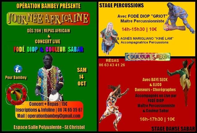 ★ Concert Fodé Diop & Couleur Sabar [Samedi14 Octobre]