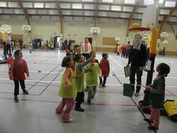 Rencontre de Basket USEP à Montoire