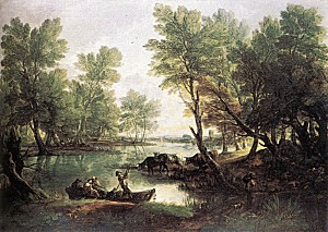 THOMAS-GAINSBOROUGH-RIVER-LANDSCAPE