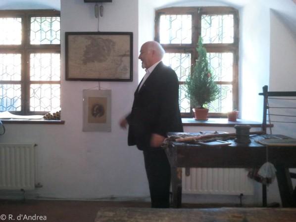 Brasov, la salle de classe d'Anton Pann