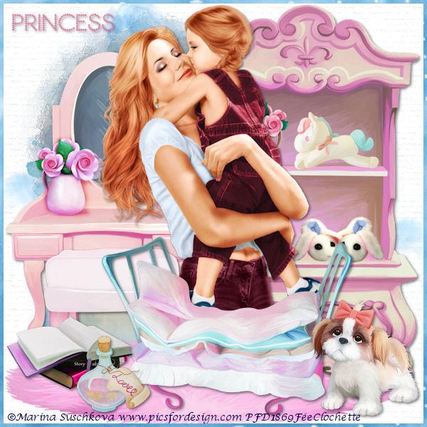 Mom's princess