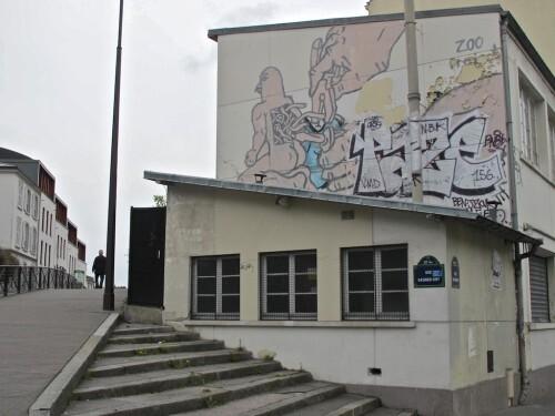 street-art Oberkampf Zoo Project 1