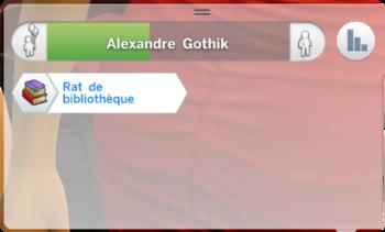 Alexandre caractère