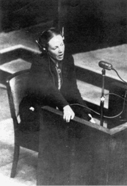 Marie-Claude Vaillant-Couturier, rescapée des camps de la mort