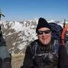 Au sommet de la Punta Espelunciecha (2397 m), devant le pic du Midi d'Ossau