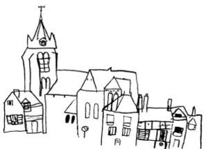 dessine ta ville1 martine 7 ans
