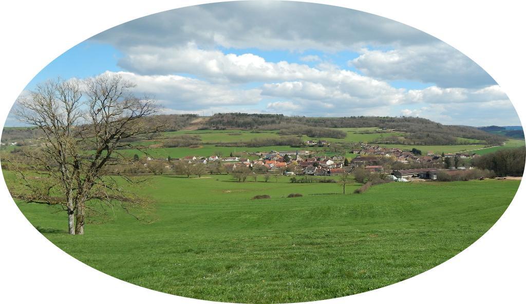 Vue de Gresigny-Sainte-Reine depuis Malmalache