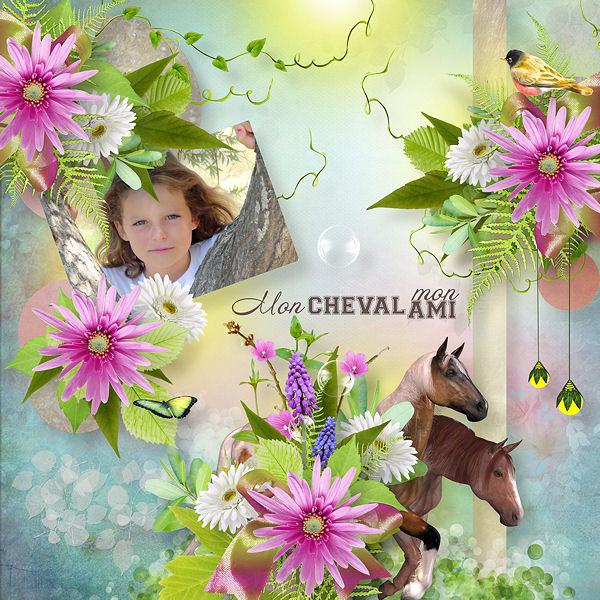 """""""Mon cheval mon ami"""" by Louise L"""