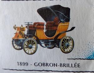Gobron Brillié 1899 Rami JMK