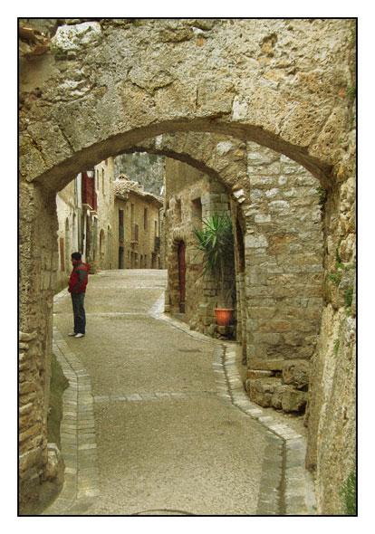 Une rue de Saint-Guilhem-le Désert