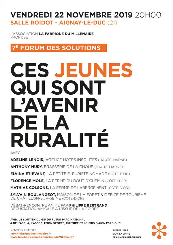 Nouveau forum du Millénaire :