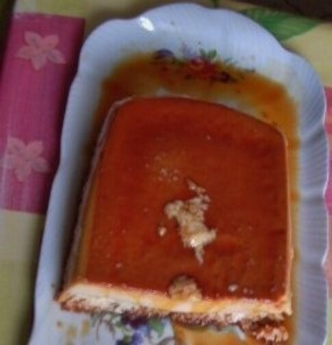 Le gâteau à la noix de Coco et au caramel