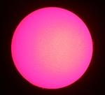 8 mars 2014 : PST Coronado, soleil entier avec EOS 1100D