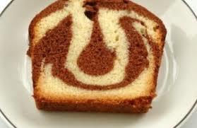 - Cake marbré