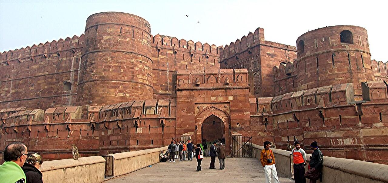 Rajasthan 3 / Agra ,1ère destination touristique.