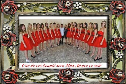 Ce soir élection Misss Alsace