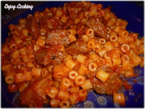 Makrouna sauce tomate