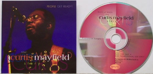 "1992 : CD "" Peole Get Ready : The Curtis Mayfield Story "" Rhino Records R2 72262 [ US ]"