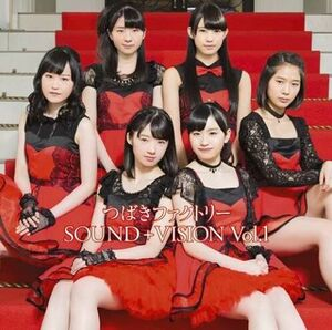 """Cover et détails de """"Tsubaki Factory SOUND+VISION Vol.1"""""""