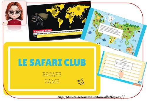 escape Game: Safari club