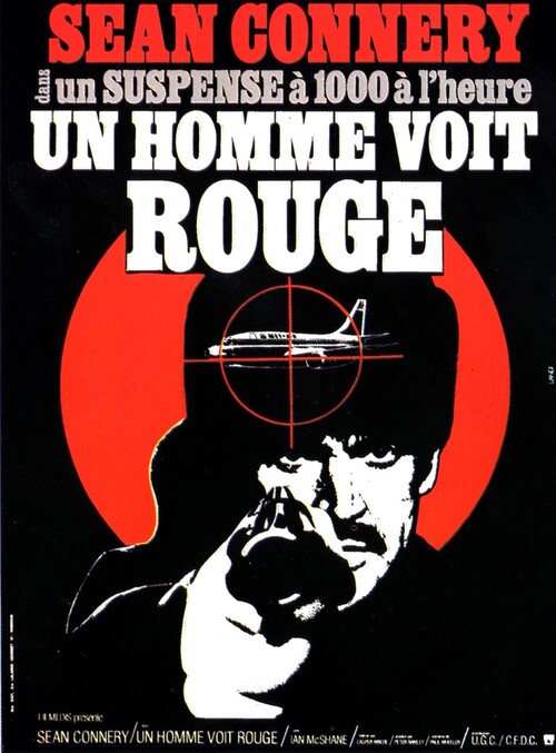 UN HOMME VOIT ROUGE - BOX OFFICE SEAN CONNERY 1975