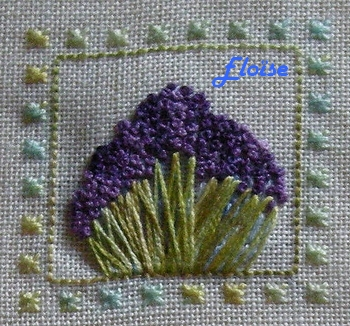 SAL duo : le Jardin aux Trèfles - étape 3 - les lavandes d'Eloïse