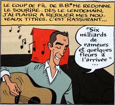 Hubert Mounier, le chanteur de l'Affaire Louis Trio, a rangé définitivement guitare et crayon.