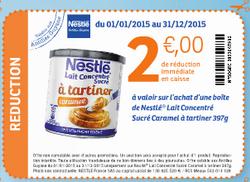 Carrefour Milenis : Nestlé Lait Concentré au Caramel à 0,90€