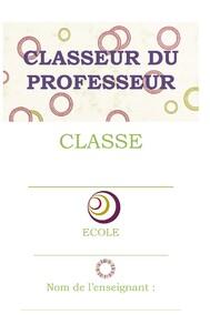 Classeurs du professeur
