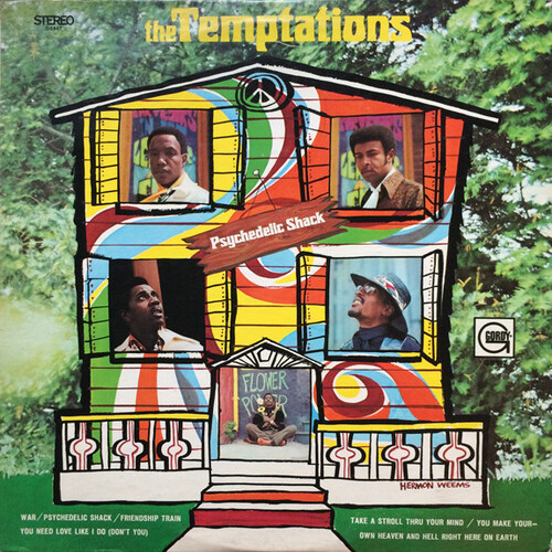 "The Temptations : Album "" Psychedelic Shack "" Gordy Records GLPS 947 [ US ]"