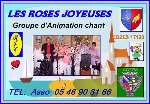 GROUPE DE CHANT ROSES JOYEUSES