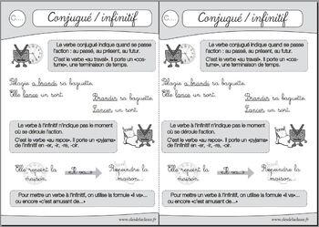 RSEEG : infinitif et verbe conjugué