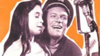 Eddie Constantine et sa fille Tania