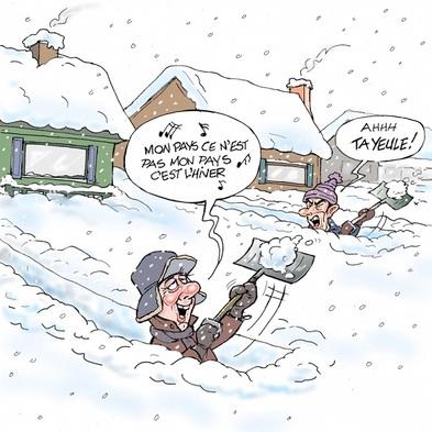 """Résultat de recherche d'images pour """"humour neige"""""""