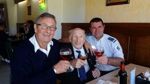 * Grand âge - « Monsieur Sourire »  Marcel Barbary fête ses 107 ans