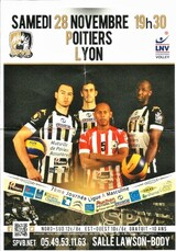 programme du match SPVB / LYON