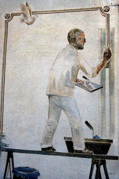 Des peintures murales