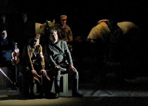 """""""Cavalerie Rouge"""" , un superbe spectacle de la Compagnie des Gens..."""