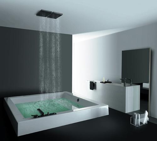 Les bains
