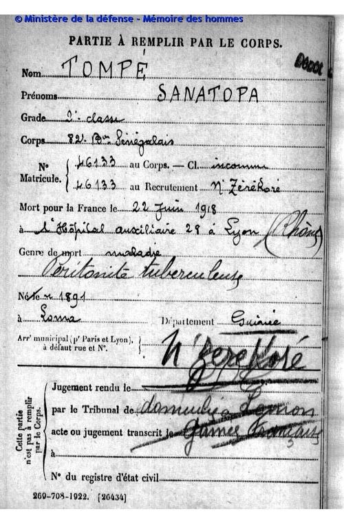 Tompé Sanatopa