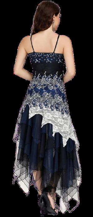Femme robe et chapeau