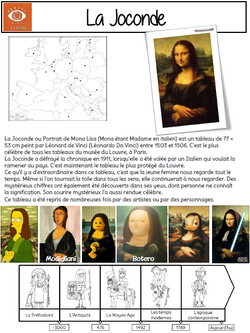 Voyage dans le temps en histoire des arts