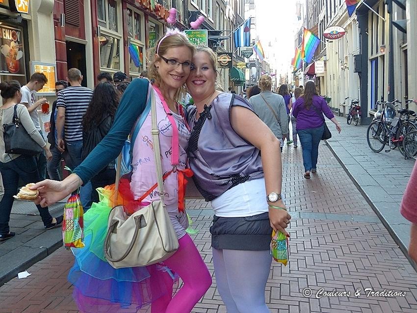 Ambiance des  quartiers d 'Amsterdam - 2