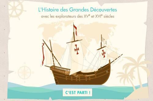 """Animation """"les Grandes découvertes"""""""