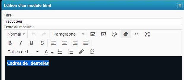 Tutoriel faire un lien d'une catégorie sur une page simple