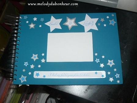 Livre d'or et urne thème étoile