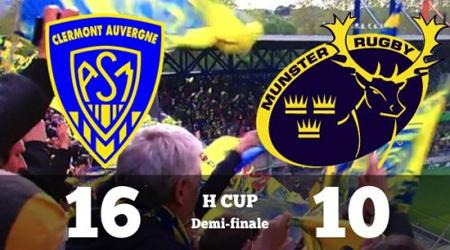 Rugby : Clermont se hisse, enfin, en finale de la Coupe d' Europe