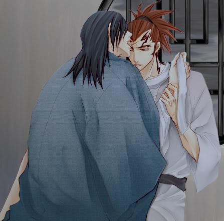 Byakuya x Renji II