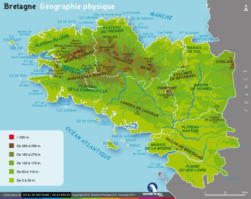 La Bretagne : carte d'identité
