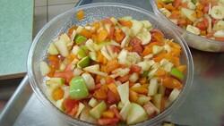 Jolie salade fruit ...